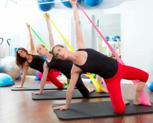 Group Mat Pilates @ St Louis Wellness Center